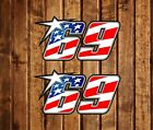 PEGATINA STICKER DECAL NICKY HAYDEN 69 MOTOGP