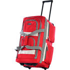 "Olympia USA 22"" 8 Pocket Rolling Duffel Bag 6 Colors"