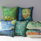 """17"""" Van Gogh Gallery Works Painting Print Home Throw Pillow Case Cushion Cover"""