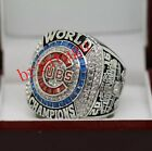 2016 Chicago Cubs MLB World Series Championship Ring Size 8-14 Solid Back
