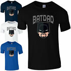 Batdad T-Shirt - Funny Batman Bat Dad Fathers Day Gift Birthday Present Mens Top