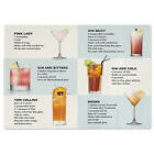 Cocktails Recipe Tempered Glass Chopping Board