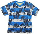 Smith's American Little Boys' All Over Stripes With Leaf Cotton T-Shirt