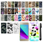 For Samsung Galaxy J2 Prime 2016 G532 Camo Design HARD Back Case Cover + Pen