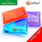 5 x Gel Heat Pads - Reusable Instant Click Pocket Hand Warmers Square