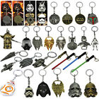 Star Wars Keychain BB-8 Darth Vader Millenium Falcon Yoda Lightsaber Figures Toy $2.99 AUD