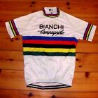 Brand New Team Bianchi Campagnolo  world Champion Cycling jersey Joop