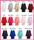 BRIDAL PARTY SILK Kimono Robes Bathrobe BRIDE, BRIDESMAID S-XXL