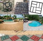 DIY Driveway Paving Pavement Mold Concrete Stepping Stone Pathmate Mould Paver   image