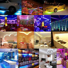 5m Led Strip Light Smd 3528 Flexible Tape 300led Dc12v Indoor Outdoor Lighting