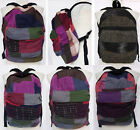 Patchwork Thai Cotton Backpack Bag