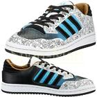 Mens Adidas Originals Centennial Low All Court Trainers Leather Sneakers Size