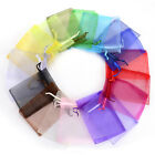 50pcs/lot Organza Bags 7x9cm Favor Wedding Party Gift Bag Jewelry Bags Pouches