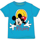 KIDS MICKEY MOUSE T SHIRT OFFICIAL DISNEY BABIES 18 MONTHS BOYS AGE 2 3 4 5