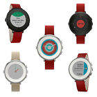 Kyпить Pebble S4.0 Time Round Smartwatch 14mm Stainless Steel with Leather Strap на еВаy.соm