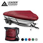 Leader+Accessories+600D+Trailerable+V%2Dhull+Tri%2Dhull+Boat+Cover+17%2D19ft+Up+To+96%22