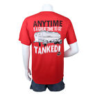 """MAC TRAILER """"ANYTIME IS A GREAT TIME TO GET TANKED"""" T-SHIRT"""