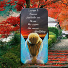 TINKERBELL LAUGHTER QUOTE FLIP WALLET PHONE CASE COVER FOR IPHONE SAMSUNG HUAWEI