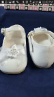 Infant White Girl Baptism Shoes, Christening Shoes, Wedding Shoes