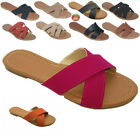 New Women Gladiator Sandals Casual slip on Flip Flops Flat S