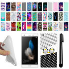 """For Huawei P8 Lite 5"""" TPU SILICONE Rubber Soft Protective Case Cover + Pen"""