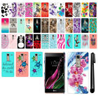 For LG Class F620 Zero H650 HARD Protector Back Case Phone Cover + PEN