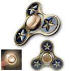 Metall Spinner Stern Hand Finger Konzentration Anti Stress Bar Spielzeug EDC AD