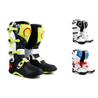 KIN New Fashion Men Leather Waterproof Colorful Motorcycle Racing Boots All Size
