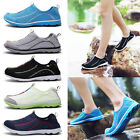 Men's Mesh Water Shoes Comfy Breathable Beach Swimming Running Walking Sneaker