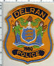Delran Police (New Jersey) Felt Shoulder Patch from 1985