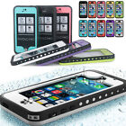 FAVOLCANO Waterproof Shockproof Protective Case Full Cover For Appl iPhone 5 5S