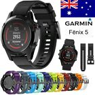 Replacement Silicagel Quick Install Band Strap For Garmin Fenix 5 GPS Watch AU