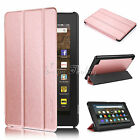 "Slim PU Flip Stand Case Cover FOR All New Fire 7"" Tablet Case & Fire HD 8"" 2017"