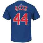 Youth Chicago Cubs Anthony Rizzo Majestic Blue Jersey T-Shir