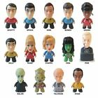 "Star Trek Titans Classic and Next Generation 3"" Vinyl Figures  Loose"