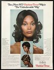 1973 Vintage Print Ad 70's FASHION TRESS Unbelievable Wigs For Woman