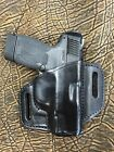New Black Leather Holster for Smith & Wesson OWB Made in USA