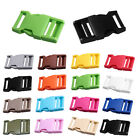 2Pcs Plastic Strap Backpack Bag Belt Webbing Connecting Buckle Clip Fastener New