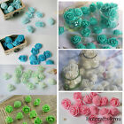 """200 Real Touch Mini Roses Wedding Bridal Artificial Flowers Home Party Decor 1"""""""