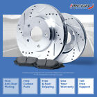 R |SILVER Slotted Drilled Rotors &Metallic Pad Mini Cooper/Cooper S From July 06