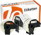 Etiketten für Brother P-Touch QL 500 550 570 650 700 710 720 N BW A NW 1050 1060