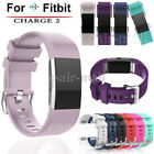 Sport Silicone Strap Replace Adjustable Wristband For Fitbit Charge 2 Bracelet