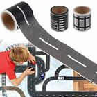 DIY Traffic Railway Road Adhesive Tape Print Stickers Kids Car Track Play Tool