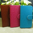 Classic Magnetic Wallet Holder flip case cover For Alcatel Mobile Phone