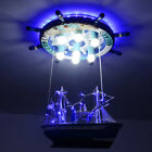 Children Toy Modern LED Pirate Ship Pendant Lights Room Cartoon Lamp Decoration
