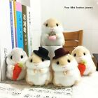 Clever Trinket Mini Hamster Plush Pendant Toy Doll Car Key Ring Key Chain Gifts