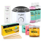 Professional Mylee Full Waxing Kit Heater Wax Strips Pre After Care Hair Removal