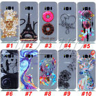 For Samsung Galaxy S8+Glow In The Dark Pattern Clear Soft TPU Rubber Case Cover