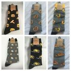 K Bell Casual / Dress Socks, Pizza, Nachos, Soft Pretzel, Food, Gift, Men's L17