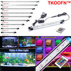 "7""-44.1"" Waterproof Glass Tube Mounted Fish Tank Aquarium Light LED Submersible"